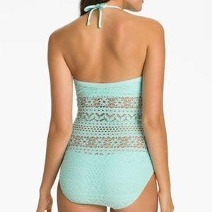 Robin Piccone Swim - Robin Piccone Penelope Crochet Overlay One Piece